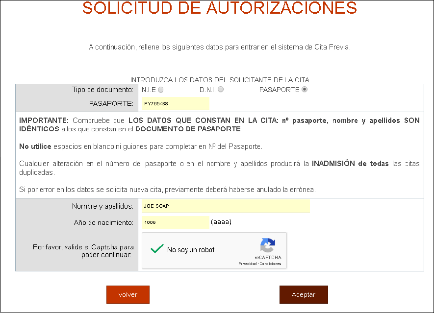 image about Printable Job Application in Spanish named How toward choose your NIE and social stability Quantity within just Spain